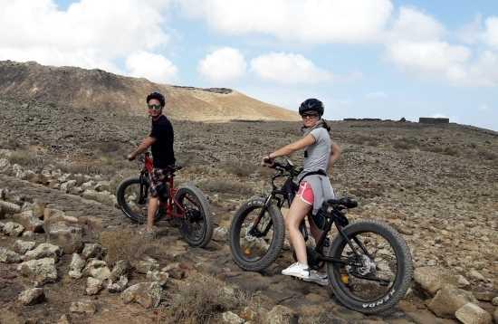 E-Bike Tour Corralejo Fuerteventura 3 uur