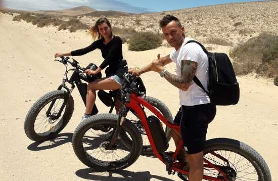 E-Bike Tour Corralejo Fuerteventura 5 uur