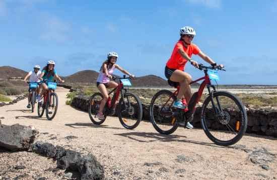 Vulkaan e-bike tour Fuerteventura 3 uur