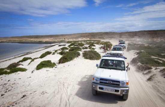 Jeep safari Cofete in het zuiden van Fuerteventura