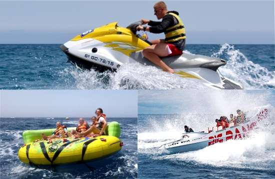 Watersport Pakket Crazy Ufo Morro Jable Fuerteventura