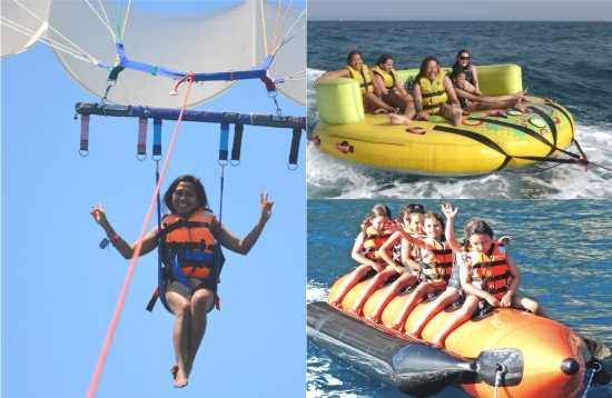Watersport Pakket Banana Boot Morro Jable Fuerteventura