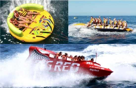 Watersport Pakket Jet Boat Morro Jable Fuerteventura