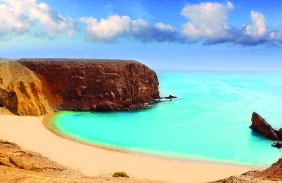 Strand & markt van Fuerteventura naar Lanzarote