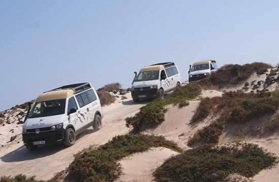 Minibusexcursie binnenland & zuiden Fuerteventura