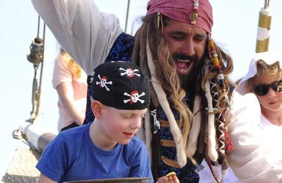 Piraten & dolfijnen voor Jandía Fuerteventura